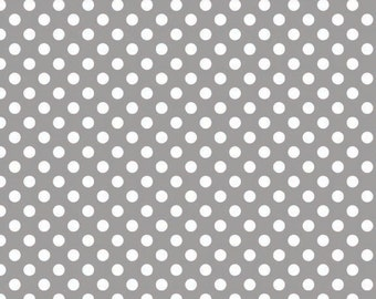 Gray Small Dots from Riley Blake