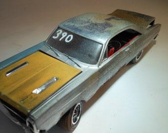 Rusted Classicwrecks Scale Model Car Blue Ford Fairlane Junkyard Find