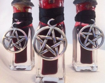 BATS BLOOD INK. Remove, banish, binding, Defensive magick.  Get the negative energy out and start anew.