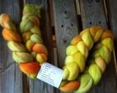 Fiber for Spinning - Finn Top - Orange/Green/Yellow