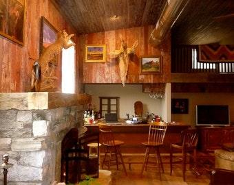 Reclaimed Barnwood Shiplap - Lumber, Wood, Board, Siding, Paneling - Vintage, Weathered - Red