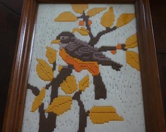 1991 framed bird