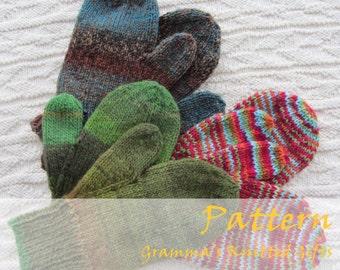 Classic Adult Mittens Knitting Pattern