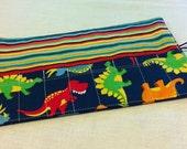 Dinosaur Crayon Roll