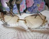 Cazal Vintage Ladies Eyeglasses with Leopard Print, gently used, cost 500 NEW
