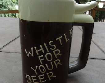 WET YOUR WHISTLE beer stein