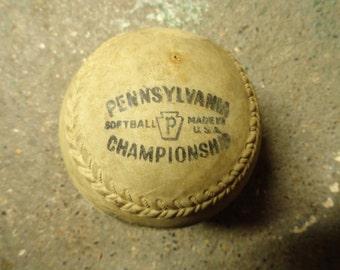 Vintage Softball