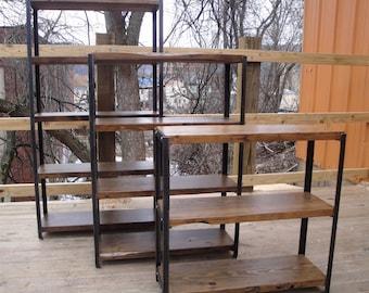 Bookcase - Reclaimed Wood Bookshelf - Made To Order