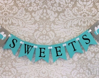 Glitter SWEETS Banner Sign