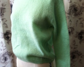 Mint green Bobbie brooks sweater small