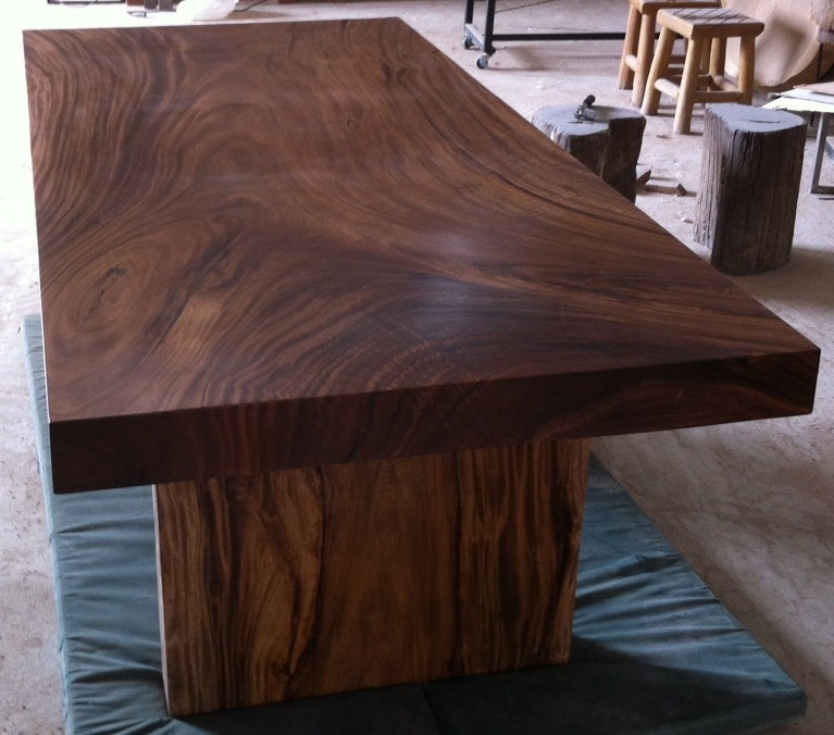 Live Edge Dining Table Reclaimed Solid Slab Acacia Wood : ilfullxfull47515423583p6 from www.etsy.com size 767 x 676 jpeg 103kB