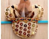 Minnie Mouse inspired Headband: Native
