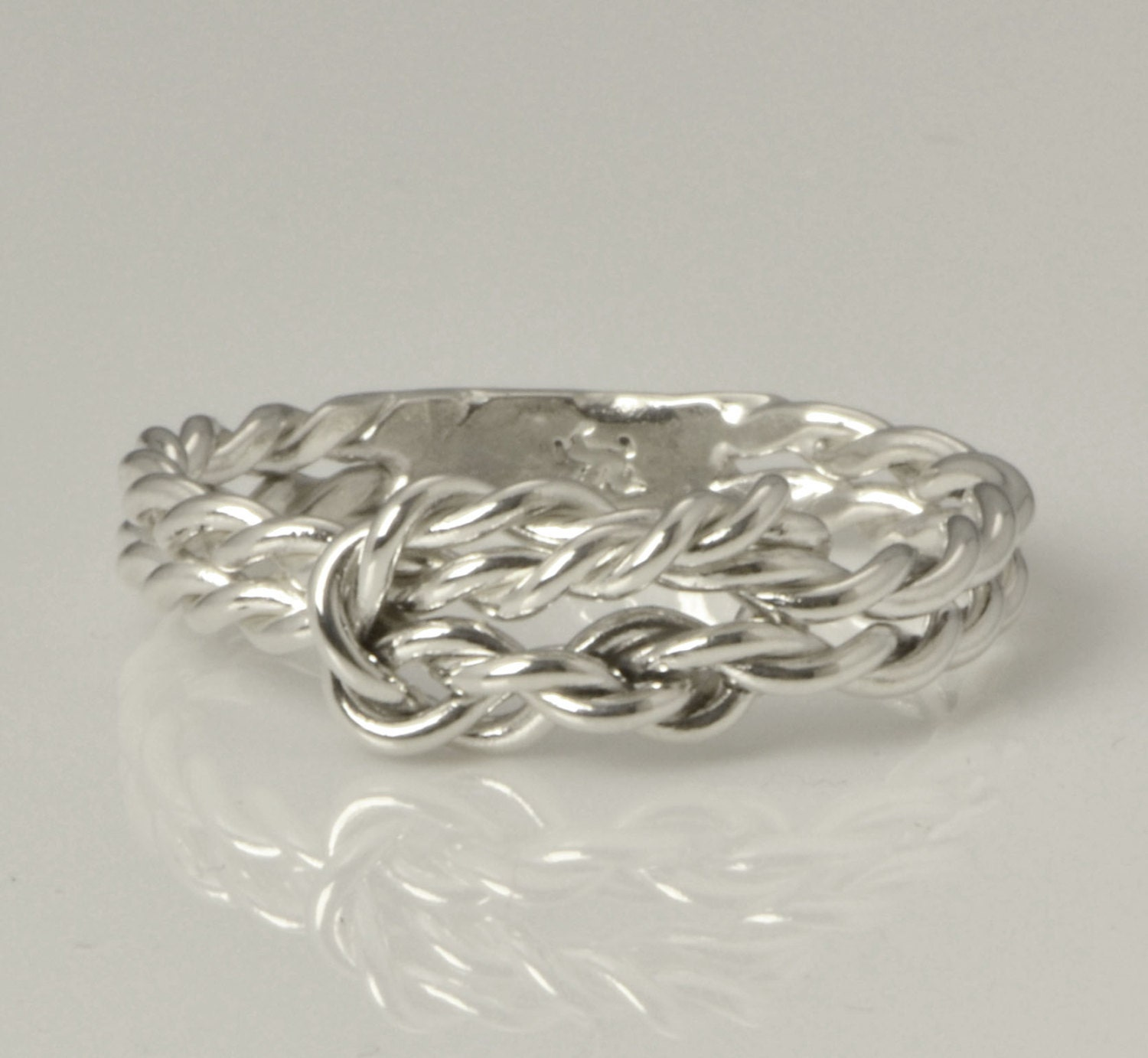 infinity knot ring promise ring thumb ring love knot
