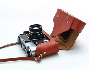 Vintage camera FED 5B  from Russia 80s, Travel camera, Manual camera