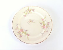 Crooksville China Co Salad Plate Spring Blossom Pattern 1930s