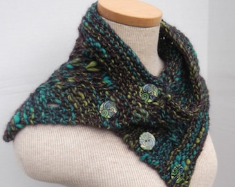 Instant Download Bulky Cowl PDF Pattern.