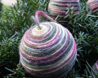 Primitive Yarn ornaments