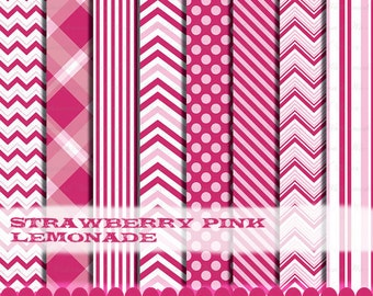 Scrapbook Paper Digital Paper Digital Papers Scrapbook Papers Digi Scrap Frame Clip Art : p0218 3s3738 IP Pink Fuschia