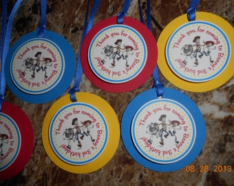Toy Story Favor Tags-Toy Story Thank You Tags-Toy Story Party Tags-Toy Story Birthday-Toy Story Decoration-Toy Story Party Decoration