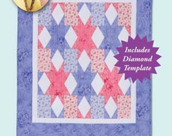 Quilt Multiple Size Options Pattern Girls Best Friend Eleanor Burns Quilt in a Day Signature Pattern