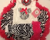 Zebra Zebra Everywhere Outfit