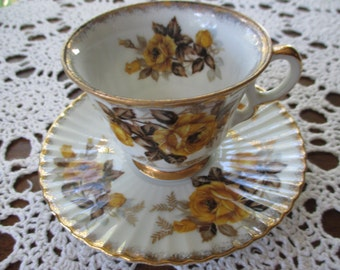 Vintage Marco Tea Cup And Saucer