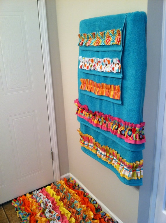 Items Similar To Towel Set Hand Bath Washcloth Bathroom