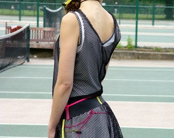 Avant Garde 4-pc Tennis Outfit -  Size S or M - handmade