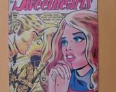 Lot of Eight LOVE and ROMANCE  comics - Charlton Comics - 1970s - 80s.
