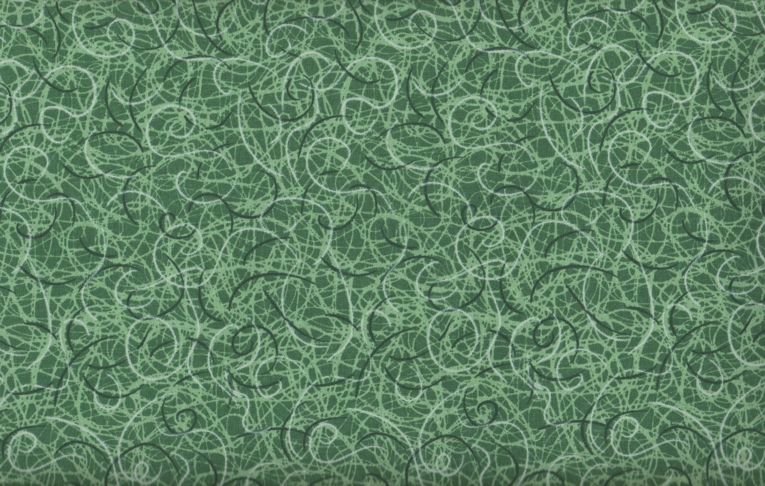 Green floral fabric scribble time grass green fabric for Green fabric