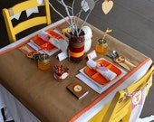PRINTABLE PARTY COLLECTION -- Eat, Drink, and Be Thankful Thanksgiving Collection -- Mirabelle Creations