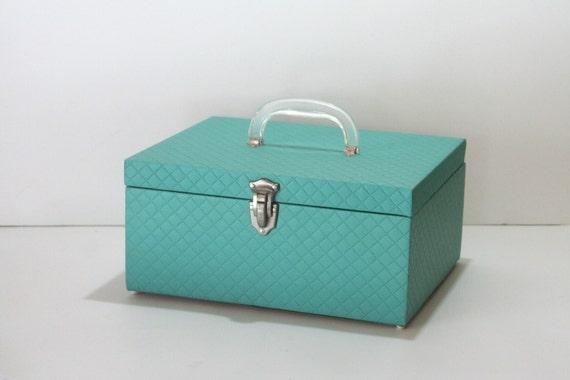 Vinyl Cases Storage Storage Turquoise Vinyl
