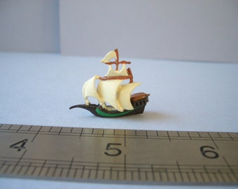 1:12th Full Sail Ship Dolls House Ornament/Figurine/Toy FREE SCALE