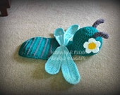 Dragonfly Newborn Baby Photography Prop Set - Crochet Pattern 115 - Newborn to 12 Months Sizes - INSTANT Download, US and UK Terms