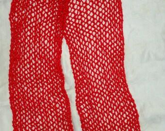 Handknit scarf or shawl