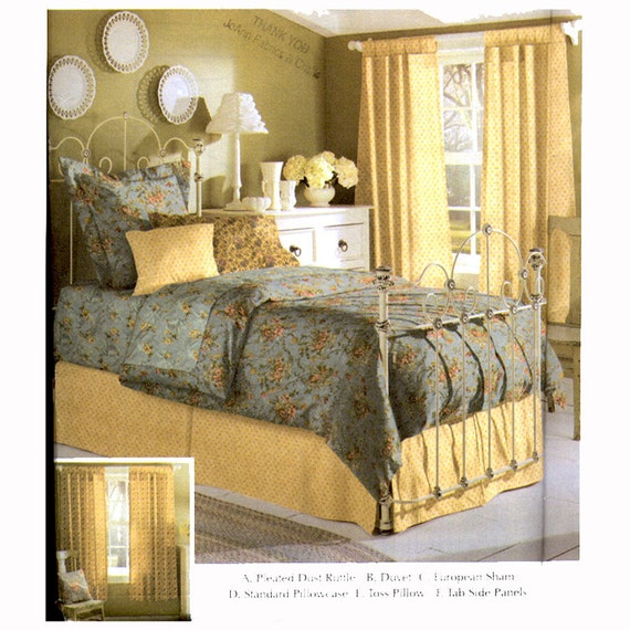Home Decor Patterns: Bedroom Accessories Pattern Simplicity 5600 Easy Home Decor