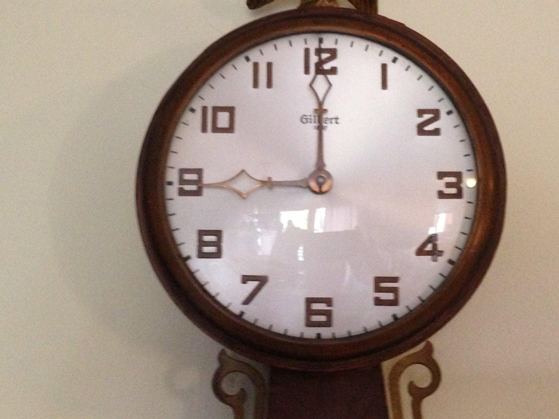 Vintage Gilbert 1807 Banjo Wall Clock