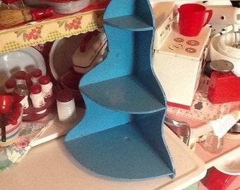 Baby Blue Vintage Shelf