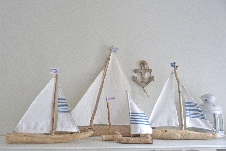 driftwood sailboat rustic nautical decor driftwood sailing. Black Bedroom Furniture Sets. Home Design Ideas