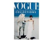 Vogue Magazine - UK March 1990 Vintage edition with cover photograph of Helena Christensen photographed by Peter Lindbergh