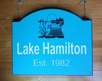 FARM SIGN / PLAQUE Personalized Outdoor Hanging Sign/ Plaque with Farm Name