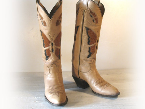 RESERVE for frankie/ Vintage Cowboy Boots TONY LAMA by EllumBranch