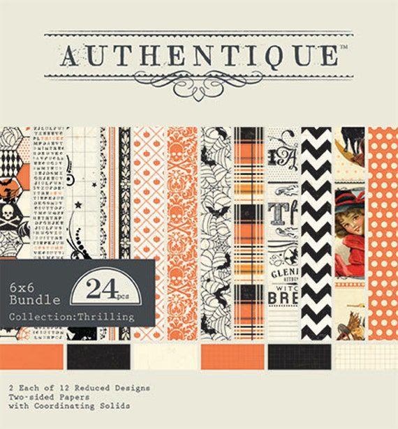Authentique Paper - Thriling Collection -  6x6 Paper Pad