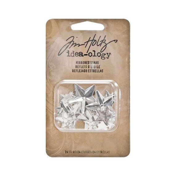 30% OFF TODAY ONLY - Tim Holtz Idea-ology - Mirrored Stars