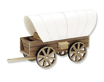 Covered Wagon Wood Craft Kit