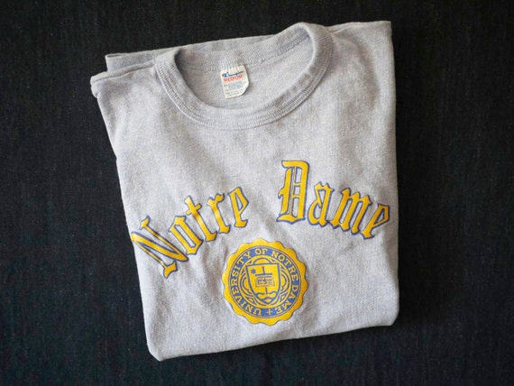 Vintage Notre Dame T Shirts 112