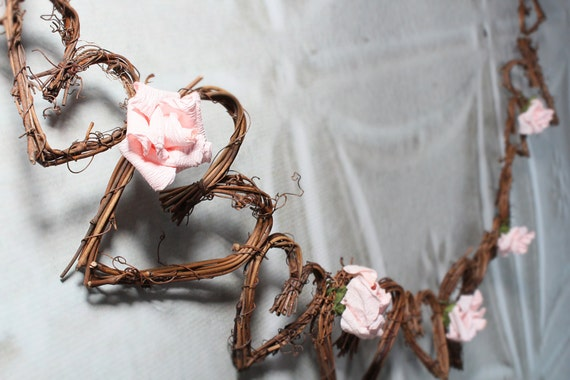 Rustic Wedding Decor, Twig Vine Garland
