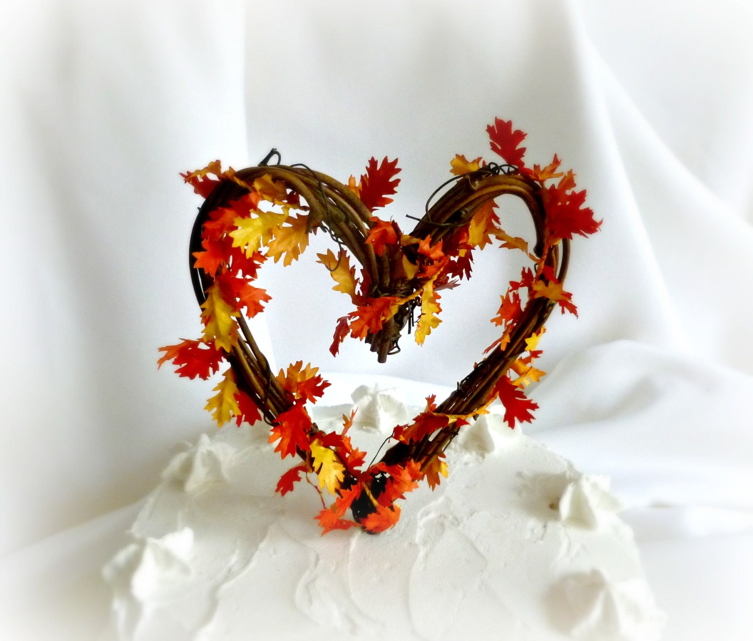 autumn wedding cake toppers fall cake topper rustic autumn wedding amp bridal shower decor 10909
