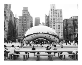 Chicago Bean Photo Print