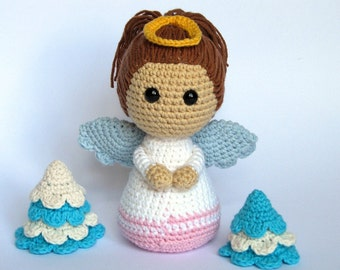 Little Angel- Amigurumi Crochet Pattern / PDF e-Book / Stuffed Animal Tutorial